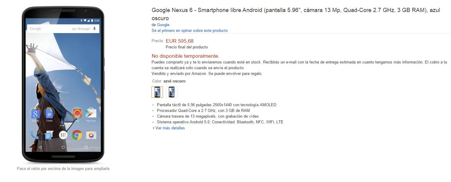 nexus6amazon