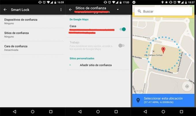 Android 5.0 Lollipop desbloquea automáticamente tu móvil en los sitios que elijas