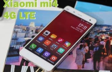 Pronto tendremos el Xiaomi mi4 versión internacional  4G LTE
