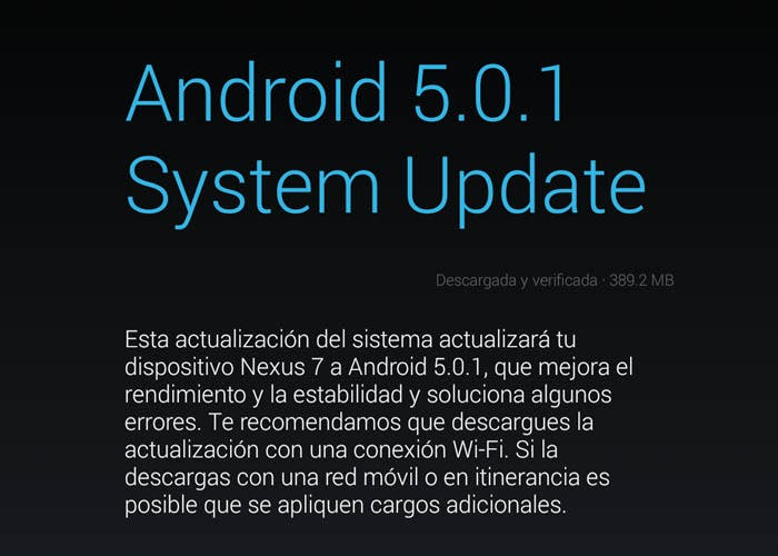Android 5.0.1 Lollipop OTA