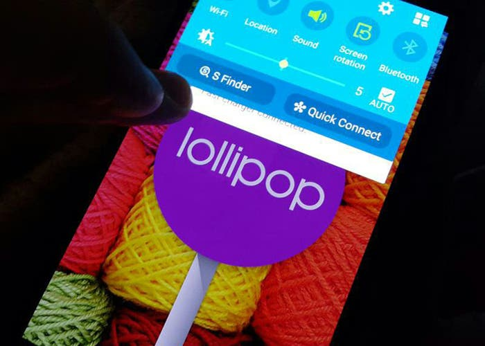 Android Lollipop Galaxy Note 4