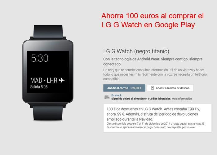 LG G Watch Oferta