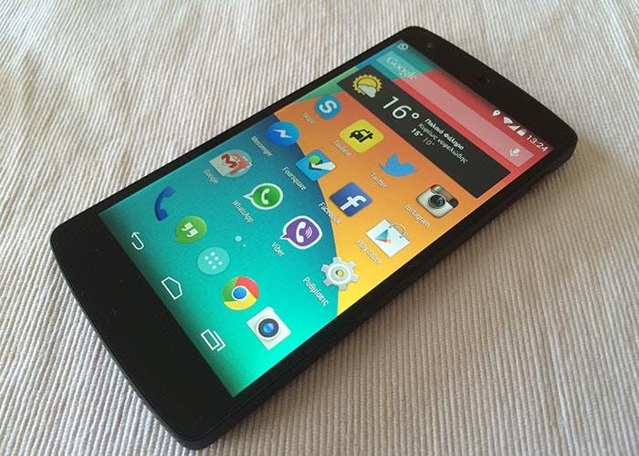 Fotografía del Nexus 5