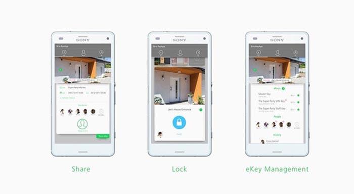 Aplicación de Qrio Smart Lock