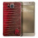 Samsung Galaxy Alpha Cocodrilo