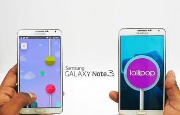 Aterriza en Vietnam la actualización vía OTA de Android 5.0 a un Samsung Galaxy Note 3