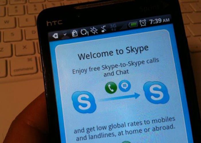 Skype Android Seguridad