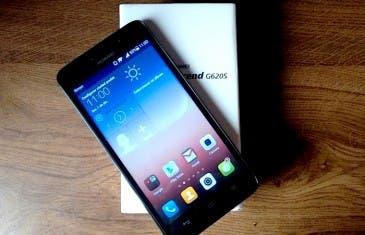 Análisis Huawei Ascend G620s: la alternativa al Moto G 2014