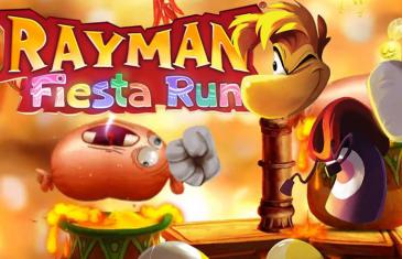 Rayman Fiesta Run el juego de plataformas más adictivo