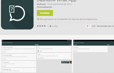 Cómo tener las burbujas de Facebook Messenger en WhatsApp con Dashdow