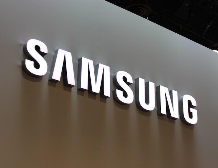 Samsung-logo-wall