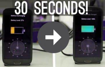 StoreDots carga un Samsung Galaxy S5 al 100% en tan solo 2 minutos