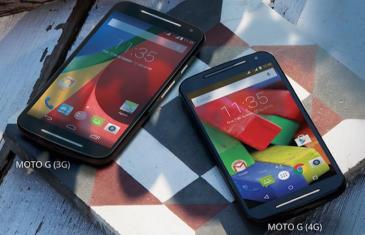 Motorola Moto G 4G es oficial y viene con pequeños añadidos