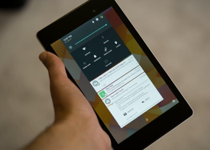 Nexus 7 LTE se actualiza a Android 5.0 Lollipop
