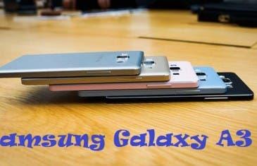 Samsung Galaxy A3: Presentación oficial y toma de contacto