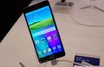Samsung Galaxy A7, diseño ultrafino y acabado metálico