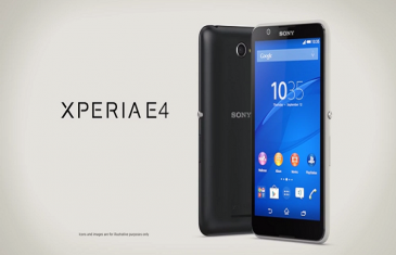 Sony Xperia E4, el móvil con el mejor tiempo de autonomia hasta la fecha