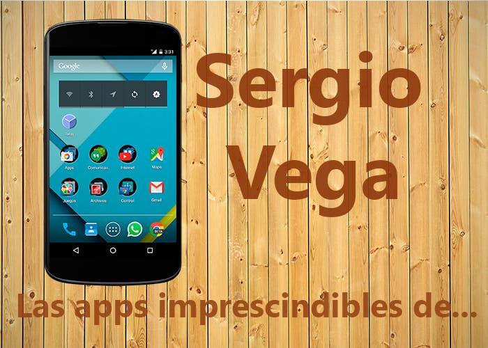 Las apps de Sergio