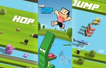 Mad Hop: igual que Crossy Road pero difícil como Flappy Bird