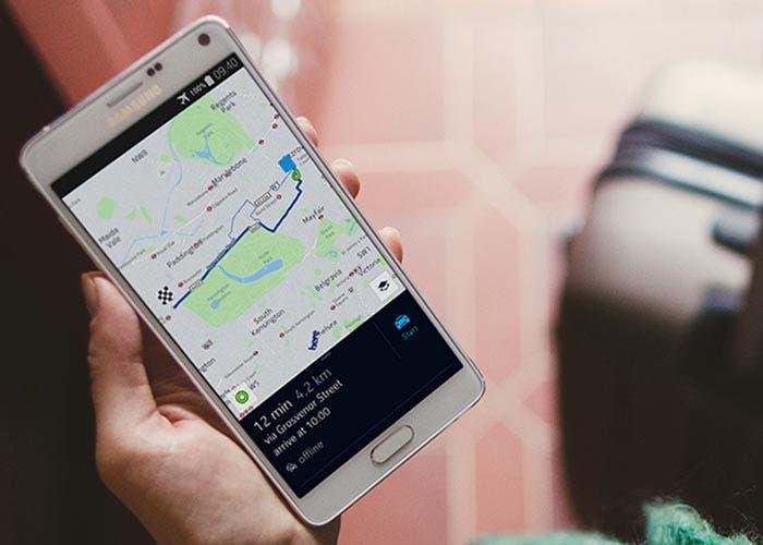 Versión final de Nokia HERE Maps