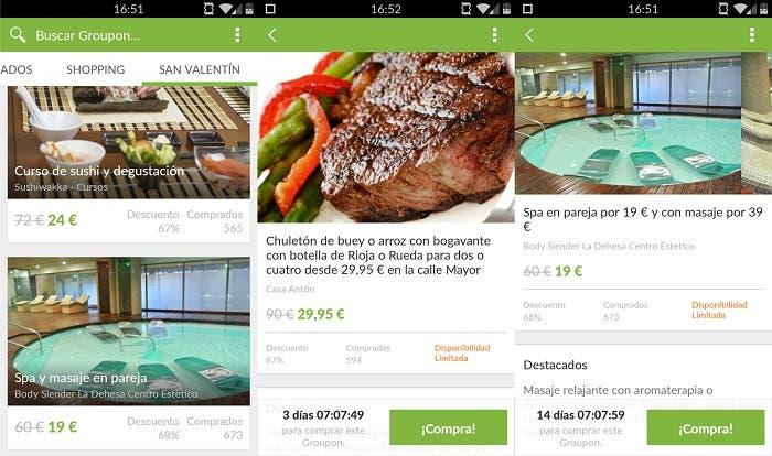 apps para san valentin groupon