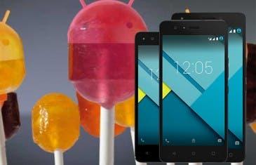 Bq presenta su nueva gama Aquaris M con Lollipop de serie