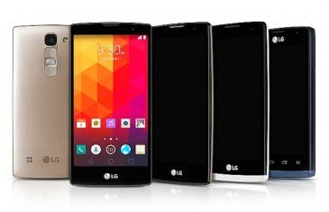 LG renueva su gama media con 4 nuevos smartphones