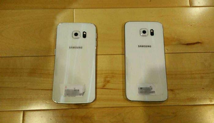Samsung Galxy S6 egde trasera