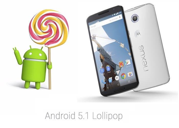 Android 5.1 Lollipop mejoras nexus 6
