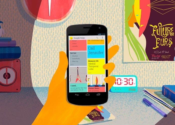 Google Keep se actualiza con modo oscuro para todos: así puedes probarlo