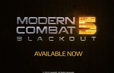 Modern Combat 5: Blackout adopta el modelo freemium