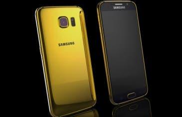 Samsung Galaxy S6 de oro por tan solo 2360 euros
