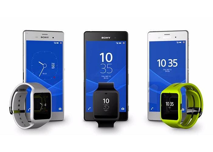 Imagen promocional de Android 5.0 Lollipop en los Sony Xperia
