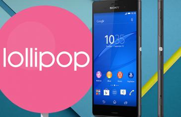 Sony Xperia Z3 y Z3 Compact ya reciben Android 5.0 Lollipop