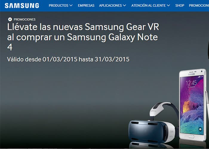 captura samsung gear vr gratis