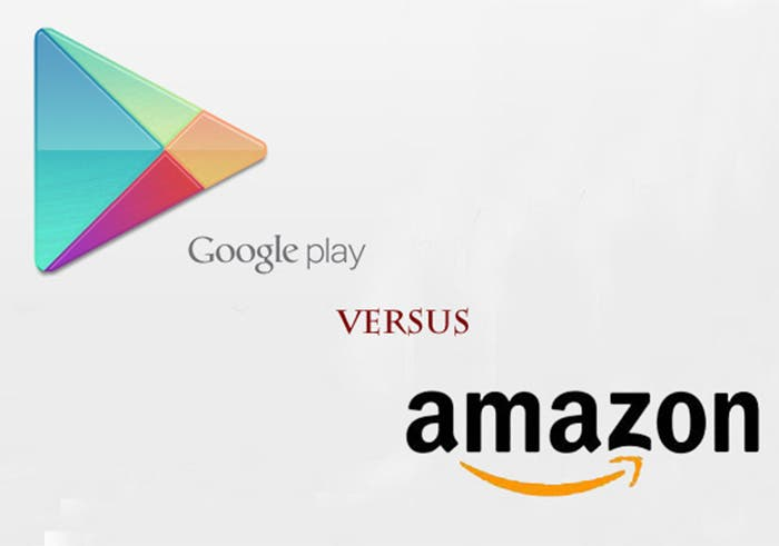comparativa google play y amazon