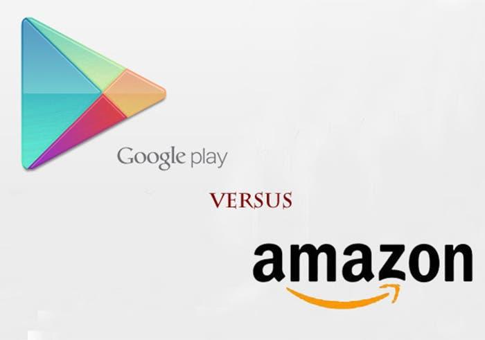 comparativa google play y amazon