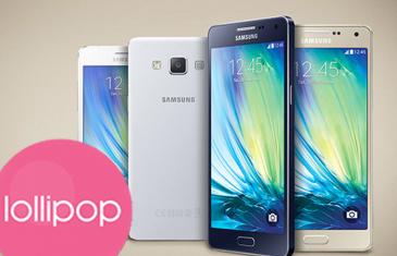 Samsung prepara Android 5.0 Lollipop para los Galaxy A