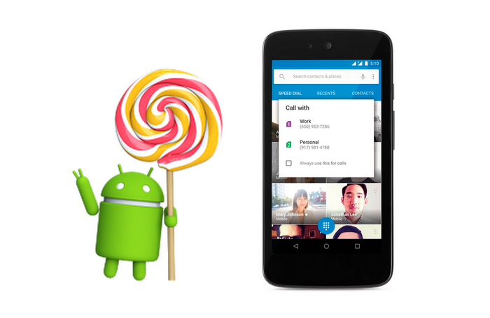 lollipop dualsim