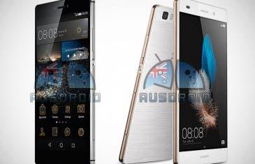 Huawei P8 y P8 Lite filtrados en imágenes con todo detalle