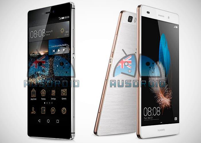 Huawei P8 y P8 Lite filtrados