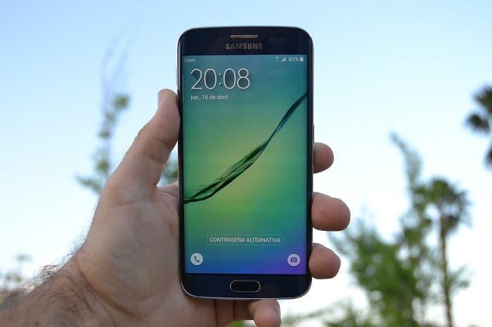 Samsung Galaxy S6 frontal
