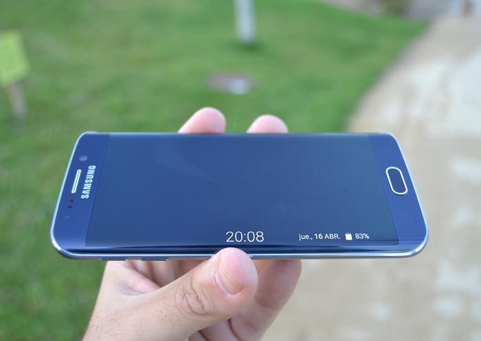 Samsung Galayx S6 Edge -curva