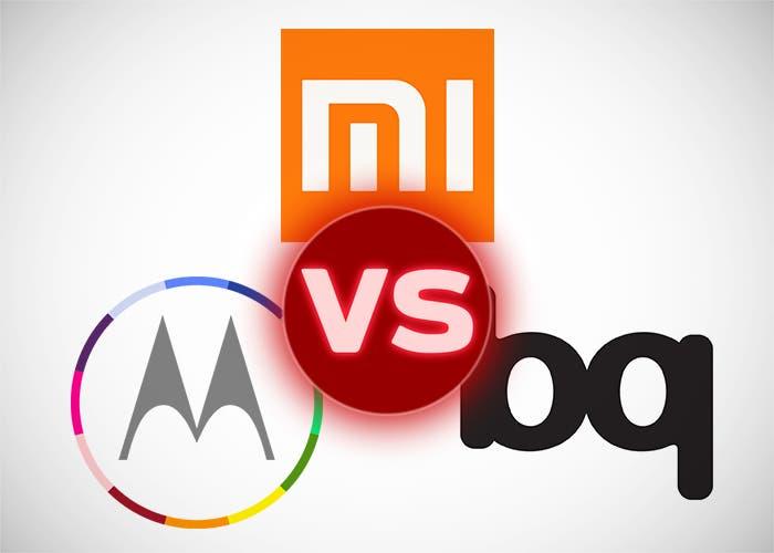 Xiaomi vs Motorola vs Bq