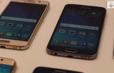 [VÍDEO] Samsung Galaxy S6 vs Galaxy S6 Edge