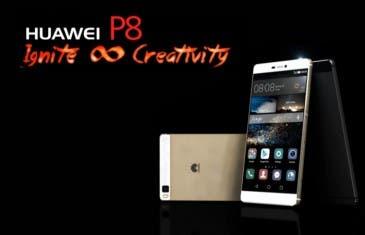Huawei P8 presentado oficialmente, conoce todos los detalles