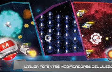 Space Liner, controla al robot con tus dedos
