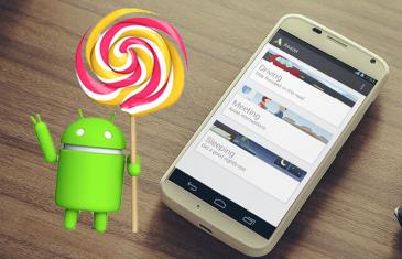 Llega Android 5.1 para los Motorola Moto X 2013 y 2014