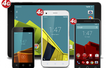 Vodafone presenta sus nuevos smartphones de ZTE y Alcatel