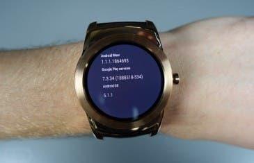 ¡Mira como luce Android Wear 5.1.1 en el LG Urbane!